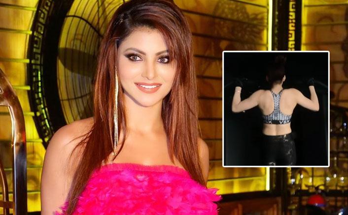 Urvashi Rautela Performs Viral WAP Challenge With 'Warrior Style Workout', Watch Video!