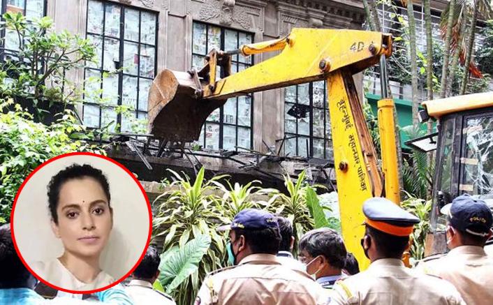 After Kangana Ranaut's Mumbai Office Gets Demolished, #WellDoneBMC Trends On Twitter