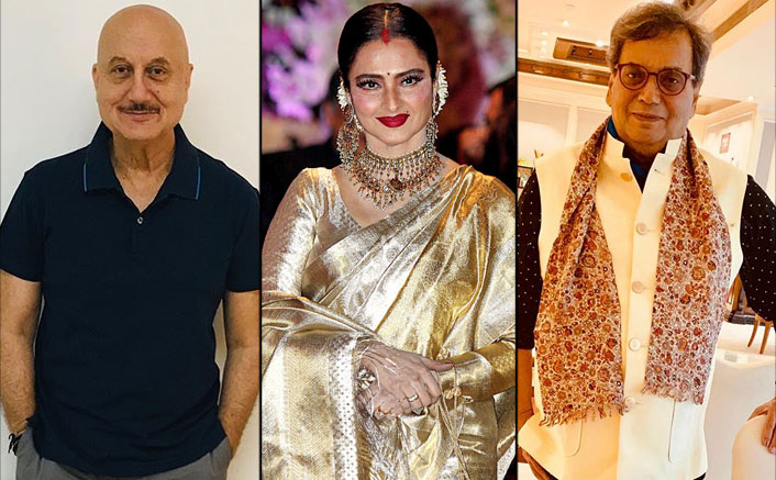 When Subhash Ghai Called Rekha A 'Blot' On The Film Industry & Anupam Kher Labelled Her As National Vamp