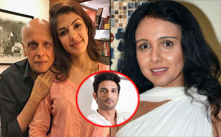 """Why Was Mahesh Bhatt So Adamant That Rhea Chakraborty Leave Sushant Singh Rajput?"": Suchitra Krishnamoorthi"