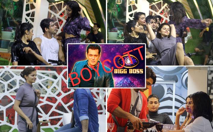 #BoycottBB14: 'Vulgar' Say Netizens As Pavitra Punia, Jasmin Bhasin & Female Contestants Woo Sidharth Shukla