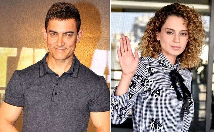"""Kangana Ranaut Drags Aamir Khan After Another Criminal Complaint Gets Filed Against Her: """"Someone Ask The Intolerant Gang..."""""""