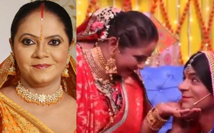 Saath Nibhaana Saathiya's Rupal Patel AKA Kokilaben Meets Sunil Grover's Topi Bahu & It's Sure To Make You ROFL! (Source: Star Bharat Twitter)