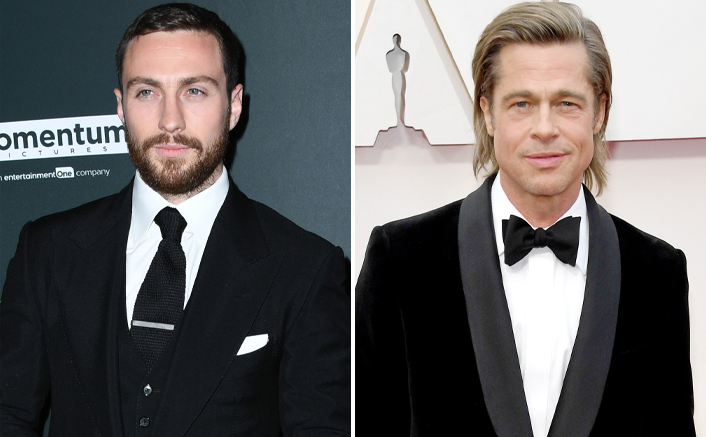 Aaron Taylor-Johnson Becomes The New Passenger To Board Brad Pitt's Bullet Train