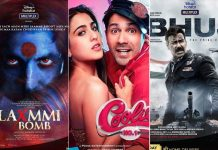 Akshay Kumar, Ajay Devgn, Varun Dhawan bring 500 crores worth of Box Office on OTT platforms