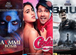 Akshay Kumar, Ajay Devgn, Varun Dhawan bring 500 crores worth of Box Office on OTT platforms