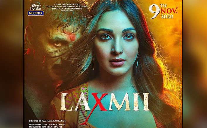 Laxmii New Poster OUT! Akshay Kumar & Kiara Advani Share A Spooky Avatar With Title Change