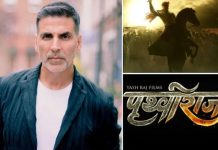 Akshay Kumar resumes shooting for 'Prithviraj'