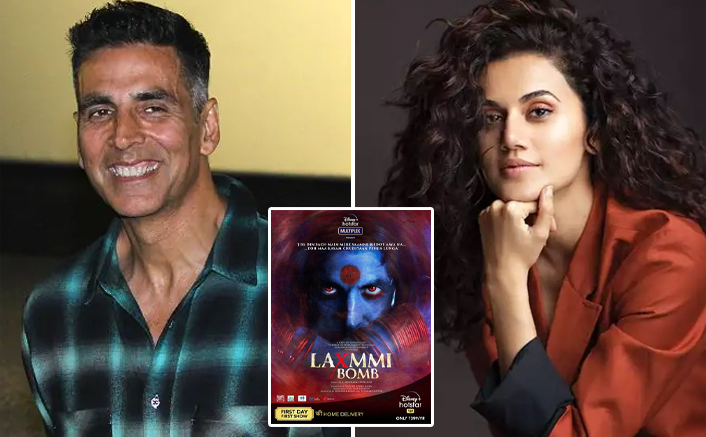 Akshay replies to Taapsee's disappointment on 'Laxmmi Bomb' not opening in theatres