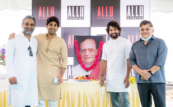 Allu Arjun Inaugurates Allu Studios On Occasion Of Allu Ramalingaiah's 99th Birth Anniversary