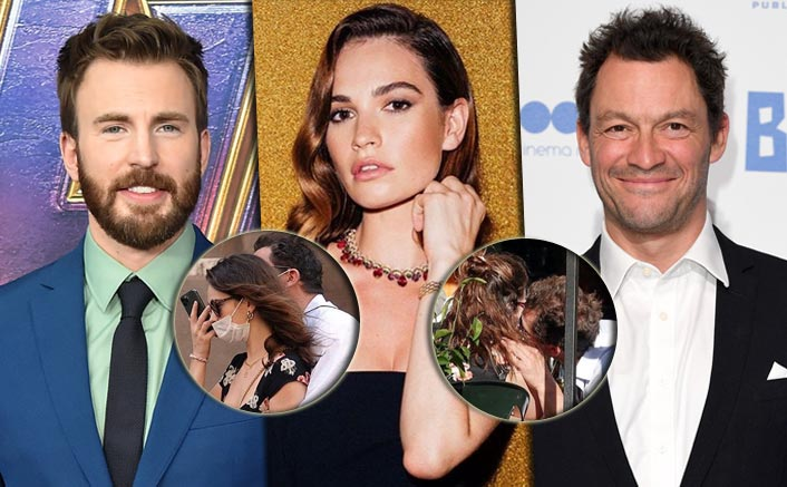 Amid Chris Evans Romance Rumours, Lily James Spotted KISSING Dominic West; Latter's Wife Reacts