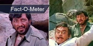 Amjad Khan's Pay For Sholay Would Sound Like A Peanut In Current Time - [Fact-O-Meter]