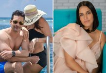 "Angad Bedi Spotted Vacationing With A Woman In Black Bikini; Neha Dhupia Quips, ""Should I Be Worried?"""