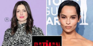 "Anne Hathaway On Zoe Kravitz Playing Catwoman In The Batman: ""I Thought She Was A Perfect Choice"""