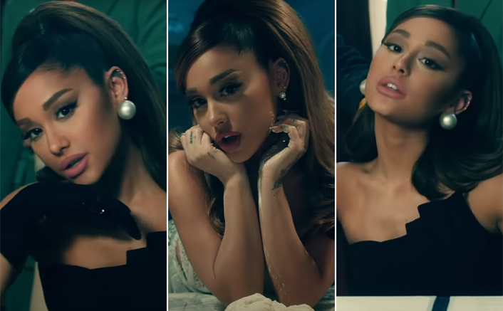 Ariana Grande Switches POSITION From Being The American President To A S*xy Cook In Her New Video