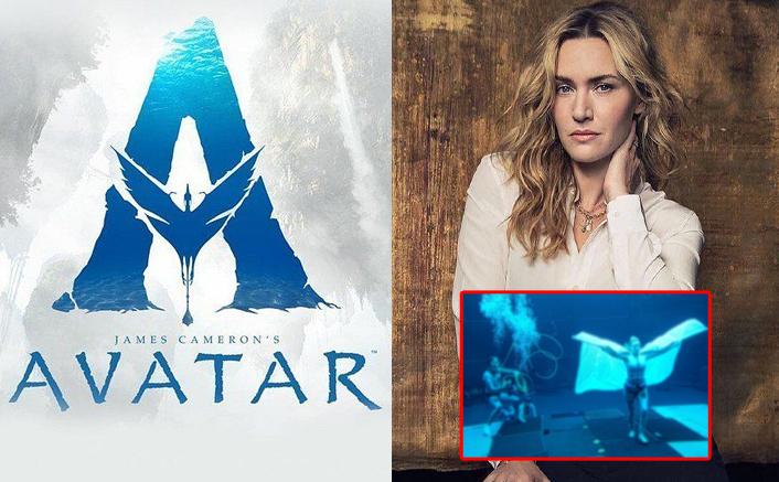 Avatar 2 Set Photos: Kate Winslet Shows Off Skills Submerged Underwater