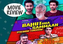 Bahut Hua Sammaan Movie Review