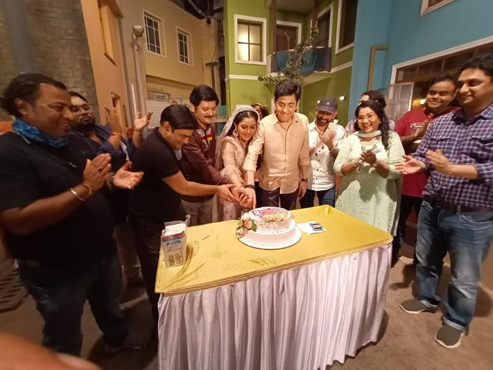 Bhabiji Ghar Par Hain Ghar Par Hai completes 1400 episodes, Binaiferr Kohli calls it a 'joyfull day'