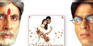 Big B looks back as Mohabbatein turns 20
