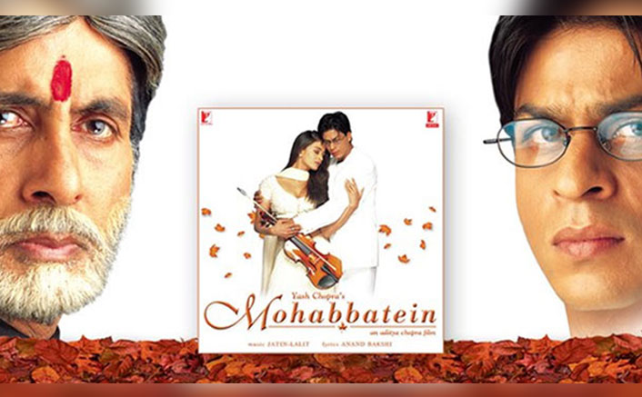 "Mohabbatein Turns 20: Amitabh Bachchan Calls The Film, ""A Roller Coaster Of Emotions"""