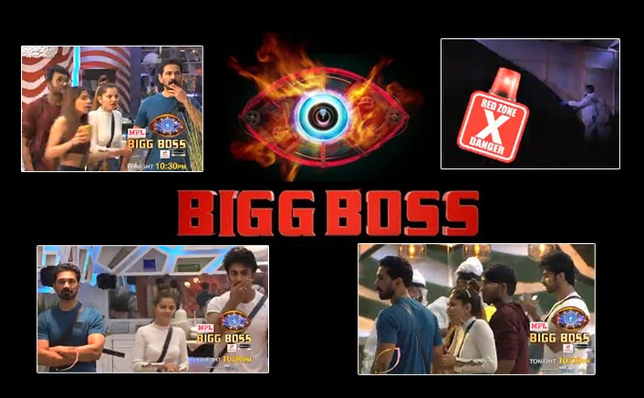 Bigg Boss 14: Nikki Tamboli, Rubina Dilaik & Others Freak Out As People In PPE Suits Tear Down A Section Of The House!