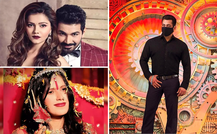 Bigg Boss 14 Premiere: Salman Khan's Leaked Pics With Rubina Dilaik, Abhinav Shukla & MORE On Radhe Maa's Stay In The House