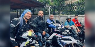 Biker boys Kunal Kemmu, Arshad Warsi and Rohit Roy on a fun ride
