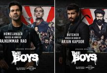Billy Butcher and Homelander get desi partners as Arjun Kapoor and Rajkummar Rao lend their voice to Amazon Prime Video's blockbuster hit superhero series The Boys – exclusive posters drop today