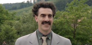 Borat Subsequent Moviefilm: Sacha Baron Cohen's Borat Uses His Own Chaotic COVID-19 Safety Protocols At Jimmy Kimmel Live!