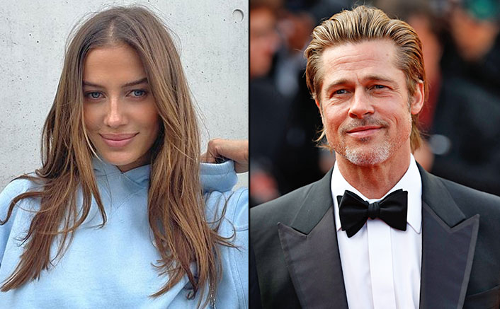 Brad Pitt's Girlfriend Nicole Poturalski Promotes Indian Drink 'Haldi Doodh' & Internet Is Going Crazy