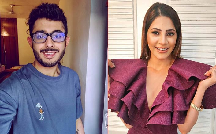 YouThoober CarryMinati Following Bigg Boss 14's Nikki Tamboli?