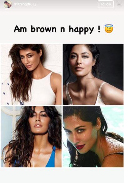 Post Suhana Khan, Chitrangda Singh Roots For 'Brown Is Beautiful'
