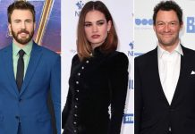 Chris Evans' Rumoured GF Lily James Dodges The Paparazzi After Kissing Pics With Dominic West Leak!
