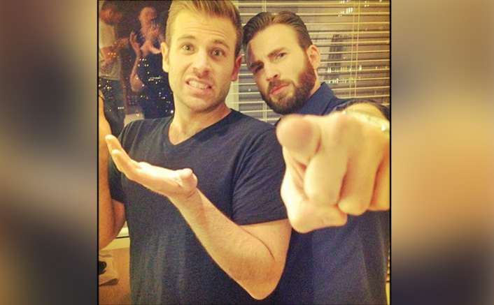 Chris Evans & Scott Evans Are The Cool Bros In THIS Throwback Pic!