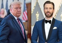 Chris Evans slams Trump for saying 'don't be afraid of Covid'