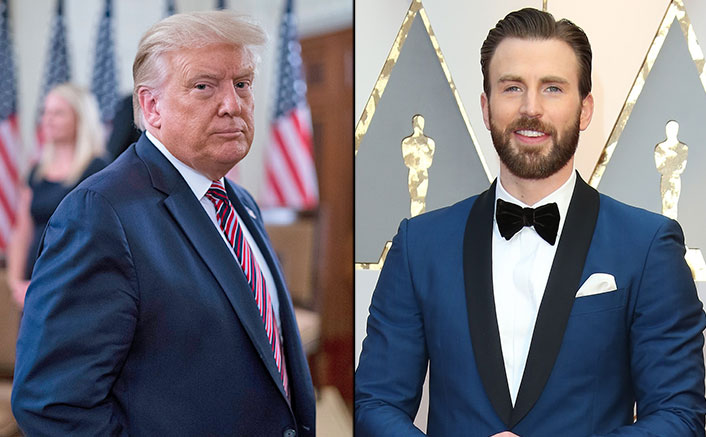 'Captain America' Chris Evans Loses Cool Over Donald Trump's 'Don't Be Afraid Of COVID' Tweet