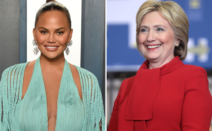 Chrissy Teigen Realizes Hillary Clinton Follows Her; Quickly Deletes Her Old 'Stupid' Videos