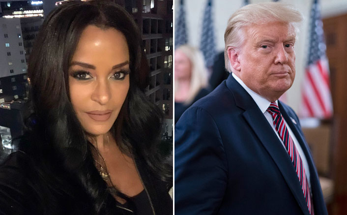 Claudia Jordan Claims 'Married' Donald Trump Tried To Kiss Her, Suggested Not To Waste Time With Black Men