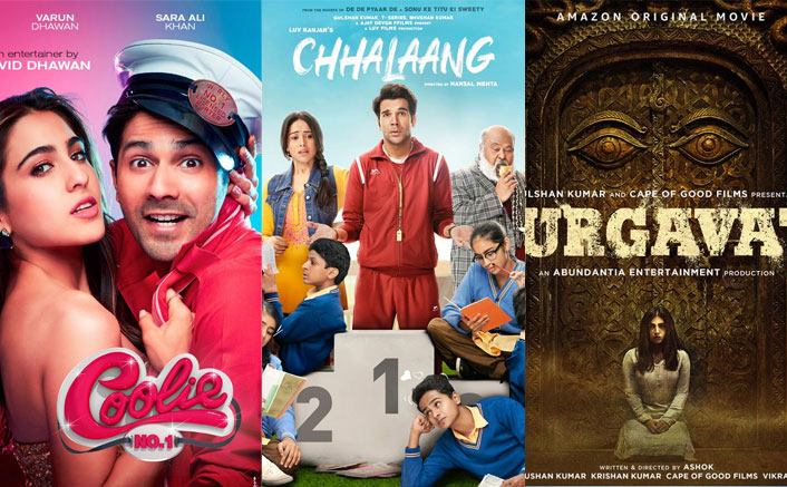 Coolie No. 1, Durgavati, Chhalaang & 6 Others Head Direct To Amazon Prime, Release Dates OUT