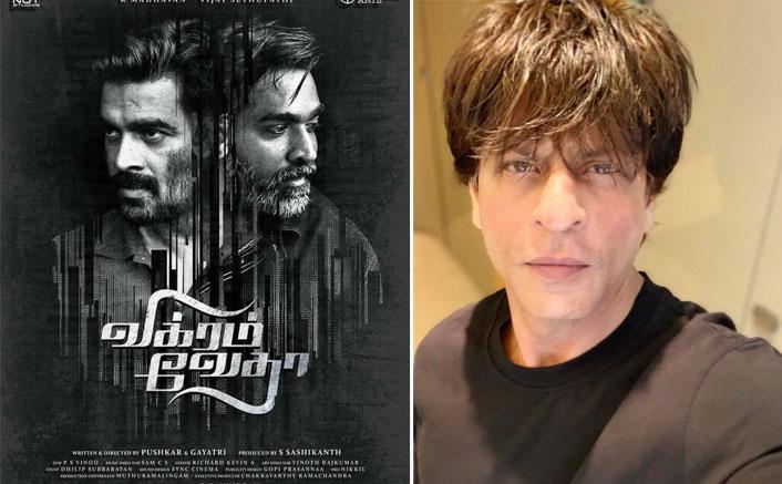 Could Shah Rukh Khan's YRF Film Pathan Be Vikram Vedha's Remake?(Pic credit: Facebook/Shah Rukh Khan)