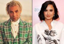 Demi Lovato Seen Having A Blast A Shirtless Mod Sun In A Car In LA – Pics Inside