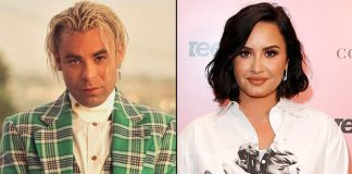 Demi Lovato Seen Having A Blast A Shirtless Mod Sun In A Car In LA – Pics Inside