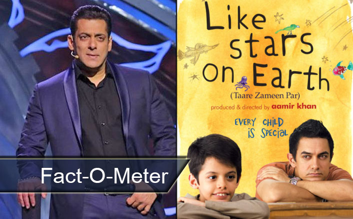 Did You Know? Aamir Khan's Taare Zameen Par Has A Special Connection With Salman Khan - [Fact-O-Meter]