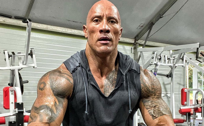 Dwayne Johnson AKA The Rock Tastes His Own Blood After Suffering A Workout Injury
