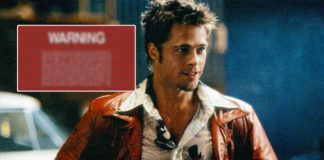 Fight Club DVD Came With A SPECIAL Warning By Brad Pitt's Tyler Which In A Way Encouraged NOT To Watch The Film