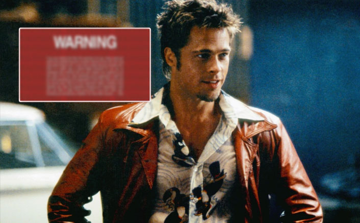 Fight Club DVD Came With A SPECIAL Warning By Brad Pitt's Tyler Which In A Way Encouraged NOT To Watch The Film(Pic credit: Movie Still)