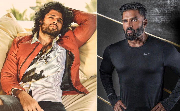 Fighter: Vijay Deverakonda Finds His Father In THIS Bollywood Star? (Pic credit: Instagram/thedeverakonda, Facebook/Suniel V Shetty)