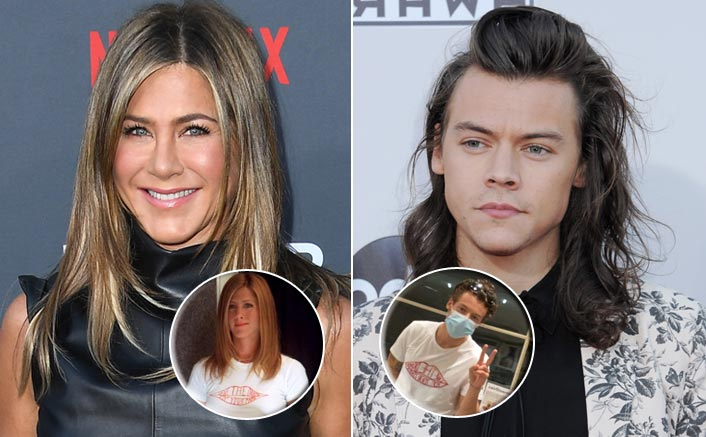 Harry Styles' New Haircut & Jennifer Aniston's FRIENDS Inspired Outfit Drive Fans Crazy!