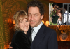 "(HD APPROVED) Dominic West & Wife Catherine FitzGerald Say, ""Our Marriage Is Strong"" Amid His Rumoured Affair With Lily James"