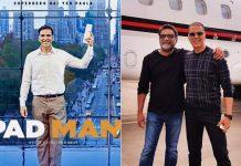 How 'Pad Man' Akshay Kumar felt wearing a sanitary napkin